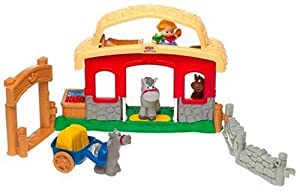 Little People Animal Sounds Stable