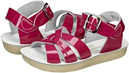 Salt Water Sandals by HOY Shoe Swimmer Sandal (Toddler/Little Kid),Shiny Fuchsia,6 M US Toddler