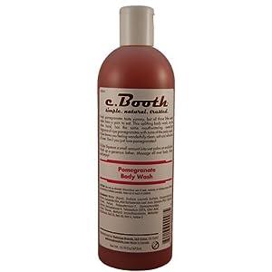 c. Booth Body Wash-Pomegranate-16 oz
