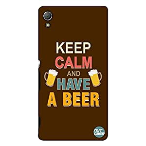 Designer Sony Xperia Z3 Case Cover Nutcase -Keep Calm & Have Beer