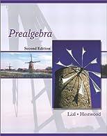 Prealgebra  by Lial