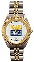 Northern Arizona University Lumberjacks Ladies Executive Stainless Steel Sports Watch