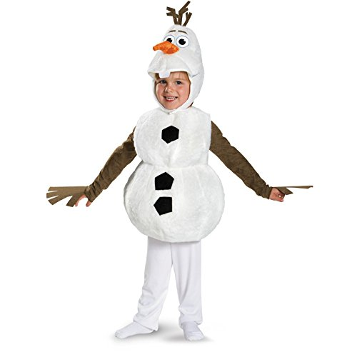 Frozen Olaf Costume -Deluxe Toddler