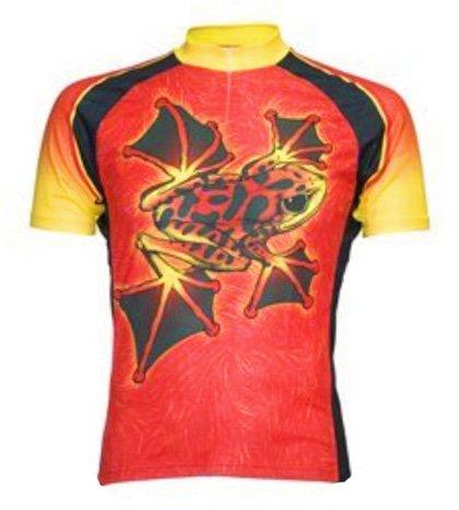 Buy Low Price Jimmy Hoppa Frog Cycling Jersey by Primal Wear Men's Short Sleeve (B006PKZU4K)