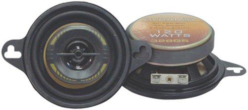 Pyramid 328Gs 3.5-Inch 120-Watts 2-Way Speakers
