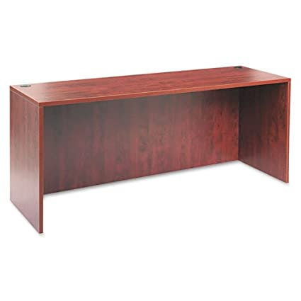 Aleraamp;reg; - Valencia Series Credenza Shell, 70-7/8w x 23-5/8d x 29-12h, Medium Cherry - Sold As 1 Each - Configures in a variety of ways to suit your needs, combining unsurpassed design flexibility with durable construction.