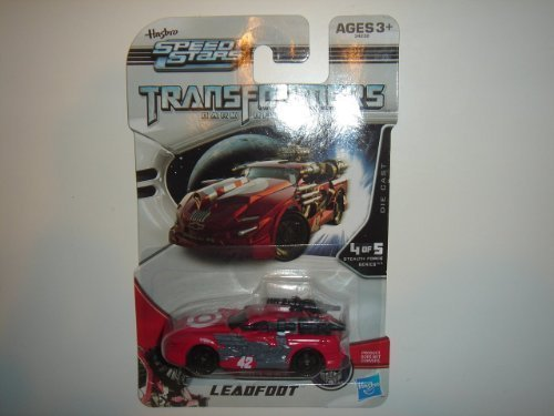 2011 Hasbro Speed Stars Transformers Dark Of The Moon Leadfoot Impala Red Tar...