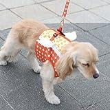 Its Dog(イッツドッグ) マイエンジェルベストハーネス・バブル/オレンジ【L】