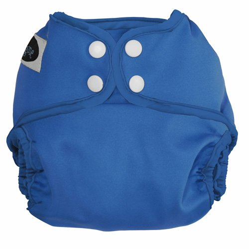 Imagine Baby Products All-In-Two Shell Snap Diaper Cover, Indigo