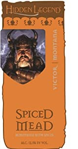 NV Hidden Legend Spiced Honey Mead 750 mL
