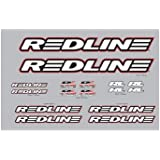 Redline Complete Decal Set White
