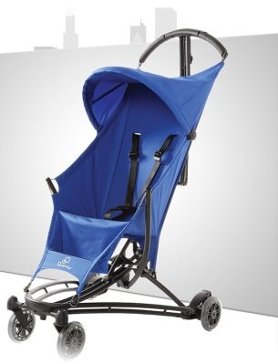 Quinny Yezz Stroller - Blue Track front-995669
