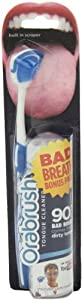 Orabrush Tongue Cleaner with Tongue Foam, Blue, 1.69 Ounce