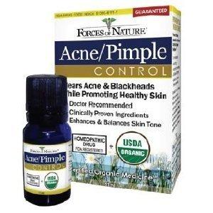 Forces Of Nature Contrôle de Pimple acné - 11 ml, 3 Pack