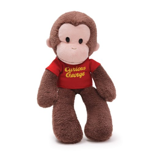 "Gund Curious George Floppy Take a Long 15"" Plush"