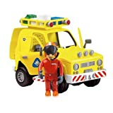 Fireman Sam Rescue Vehicle With Sound, Lights & Tom Figureby Born To Play