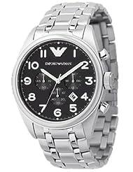 Emporio Armani Quartz Black Dial Men's Watch AR0508