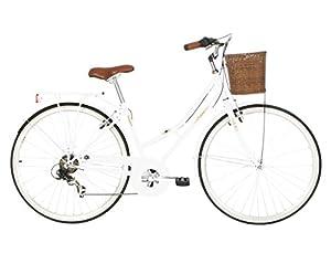 Kingston Women's Hampton Classic Traditional Bike - Peralised White, 16 Inch