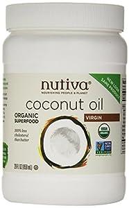 Nutiva Organic Virgin Coconut Oil, 29 Ounce (Pack of 2)