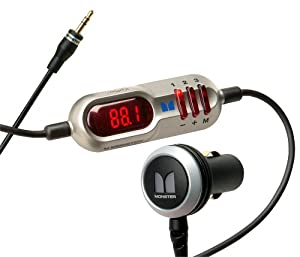 Monster RadioPlay 300 Universal Full Spectrum FM Transmitter MBL-FM XMTR300