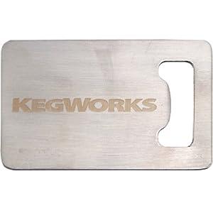 stainless steel credit card bottle opener wallet size handheld bottle openers. Black Bedroom Furniture Sets. Home Design Ideas