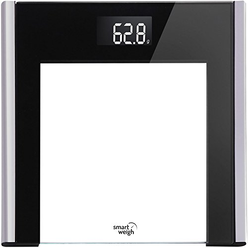 Smart Weigh Precision Ultra Slim Digital Bathroom Scale with Instant