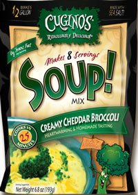 Cuginos Creamy Cheddar Broccoli Soup