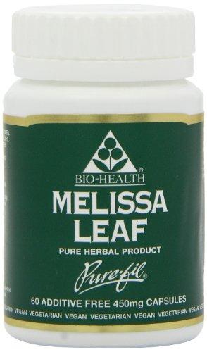 Bio-Health Melissa Leaf 60 Capsules (Case of 6)