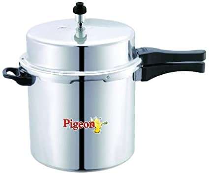 Pigeon-Deluxe-Aluminium-12-L-Pressure-Cooker-(Outer-Lid)