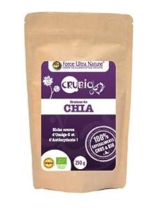 Crubio CHIA Graines (biologique) 250g