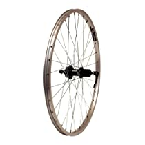 "XLC/Alex X-101 MTB Rear Wheel 26"" x 1.75, SRAM 8/9-Speed, Silver QR"