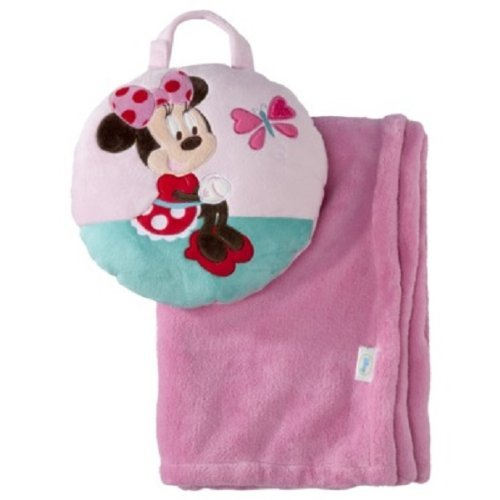 Disney Minnie Mouse Tuck Away Blanket - 1