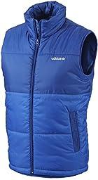 Adidas AC Padded Vest Bluebird Tre-Foil Logo Men\'s Size XL