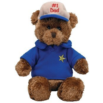 TY Beanie Baby - DEAR DAD the Bear (Hallmark Gold Crown Exclusive)