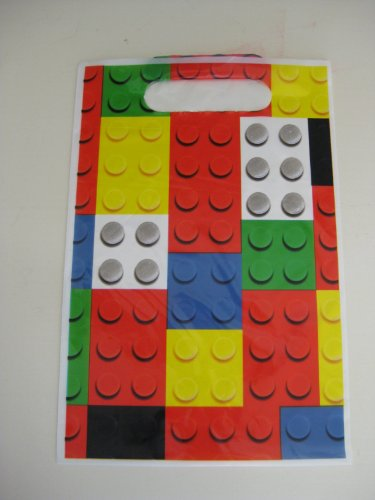 Lego Birthday Party Candy Loot Bags set of 12