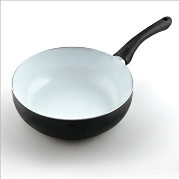 o0orelaxdays po le wok wok 24 cm antiadh sif rev tement. Black Bedroom Furniture Sets. Home Design Ideas