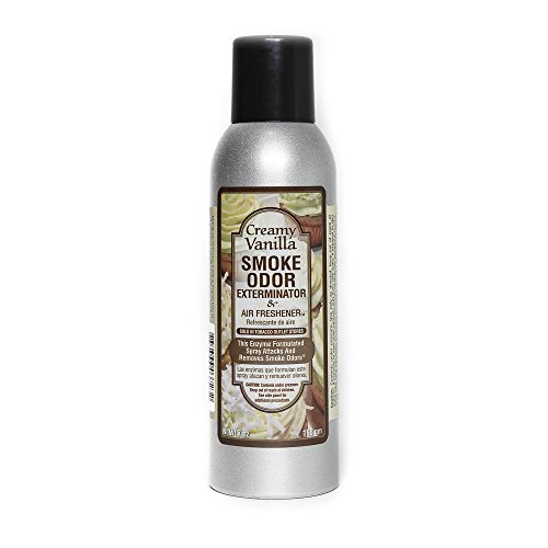 Smoke Odor Exterminator 7oz Large Spray, Creamy Vanilla (Smoke Odor Eliminator Spray compare prices)