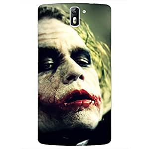 Jugaaduu Villain Joker Back Cover Case For OnePlus One