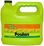 Poulan 952030130 Bar and Chain Oil, 1-Gallon
