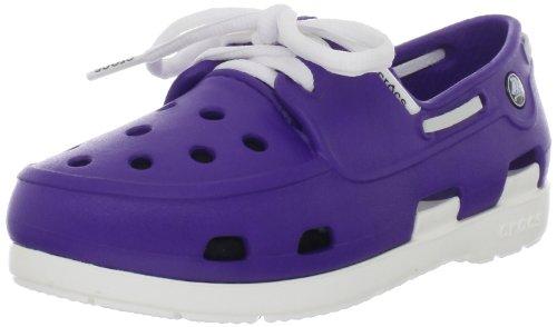 crocs 14404 Beach Line Shoe ,UltraViolet/White,12 M US Littl
