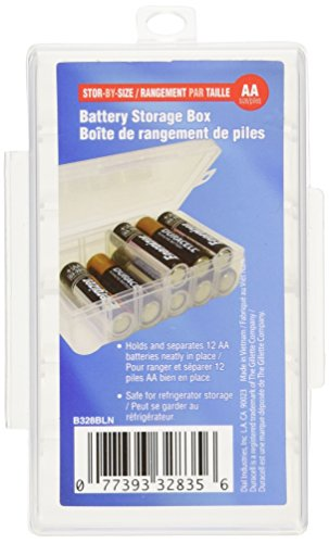 Dial AA Battery Storage Box (Battery Storage Containers compare prices)