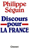 img - for Discours pour la France (French Edition) book / textbook / text book