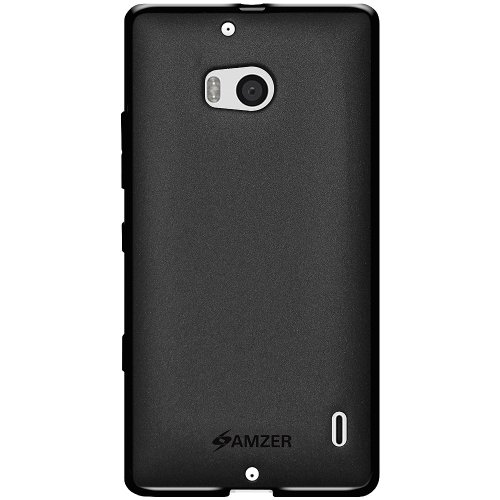 Amzer 96347 Pudding TPU Case - Black for Nokia Lumia 929  available at amazon for Rs.1499