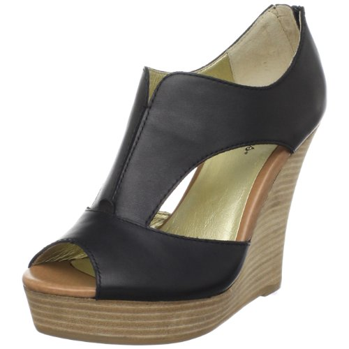 Seychelles Women's Eye To Eye Wedge Sandal,Black,9.5 M US
