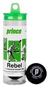 Prince Rage Double Yellow Dot, 3 ball Tube