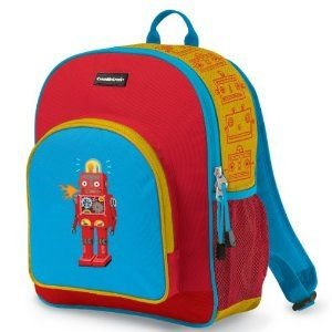 Crocodile Creek Toddler Backpack Robot