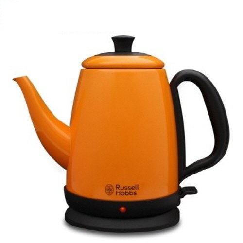 Russell Hobbs Stylish Colorful Stainless Steel Electric Kettle 1.0L RH-010KS (Orange) (Russell Hobbs Glass Touch compare prices)