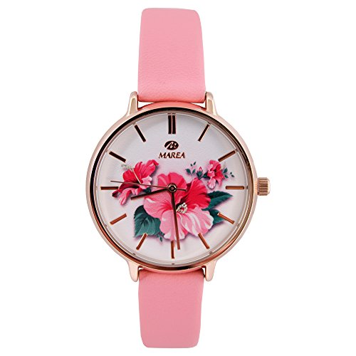 watch-marea-mrs-box-golden-field-with-flowers-belt-in-pink