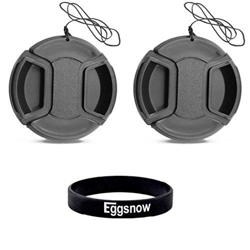 Eggsnow (2-pack) 86mm Camera Lens Cap for Canon Nikon Sony Etc Dslr Camera