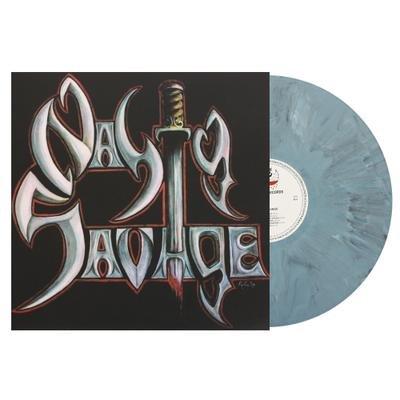NASTY SAVAGE, Nasty savage GREY MARBLED VINYL - LP